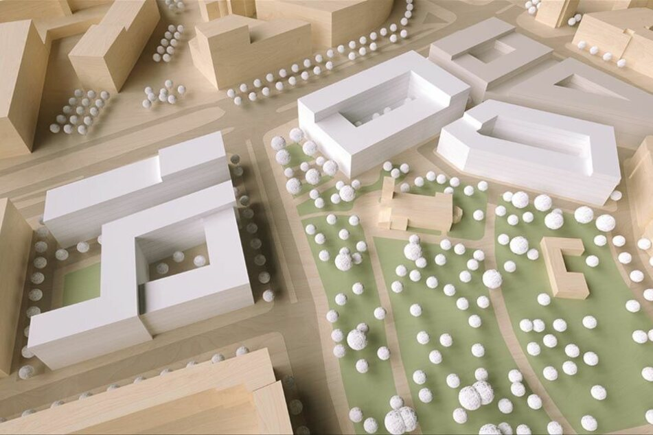 Zwei Investoren sollen vom Stadtrat im September den Zuschlag für die Grundstücke vor Tietz und an Johanniskirche erhalten.