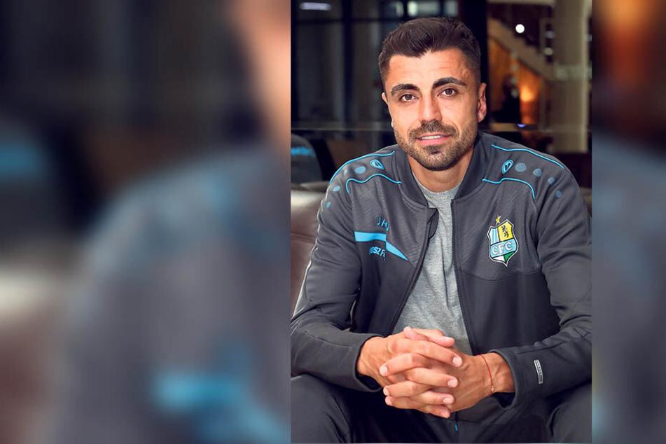 Georgi Sarmov kommt als Nationalspieler zum CFC. Durch das unerwartete Auswahl-Comeback stieg er später in die Vorbereitung ein, hat den Rückstand aber fix aufgeholt.