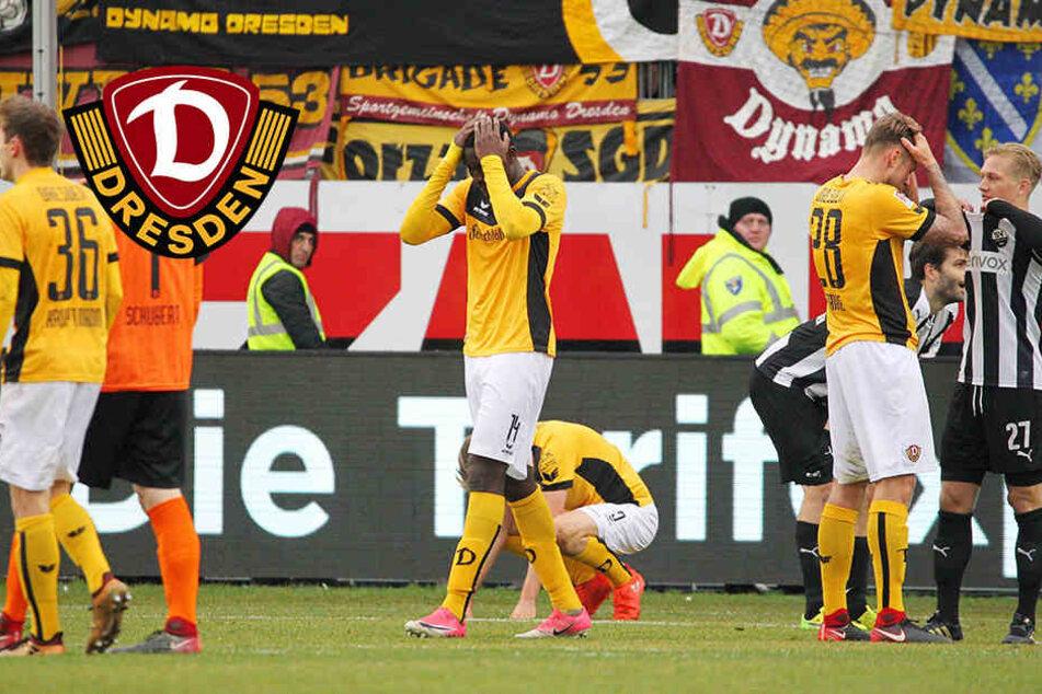 """""""Unglaublich, dass ich da im Weg stehe"""": Dynamo-Stürmer Mlapa bitter enttäuscht"""