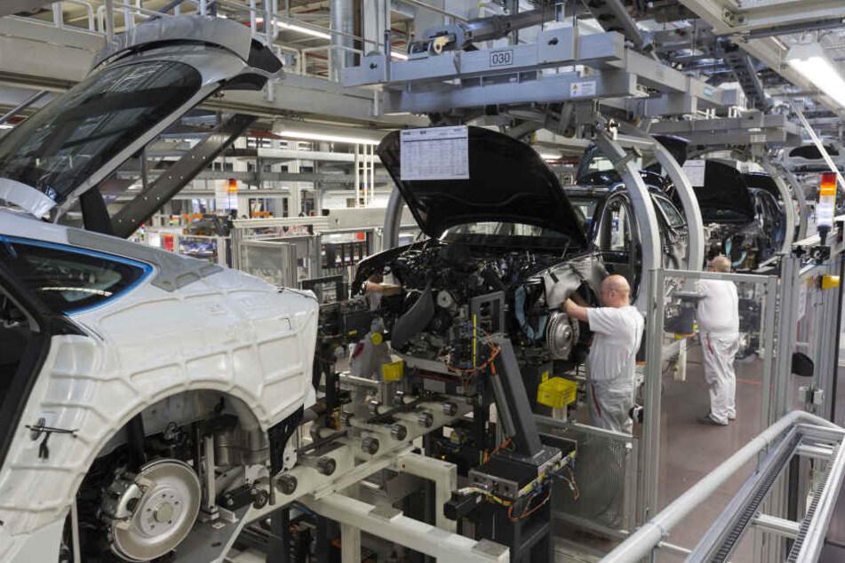 Bei Audi werden 9500 Stellen abgebaut. (Archivbild)
