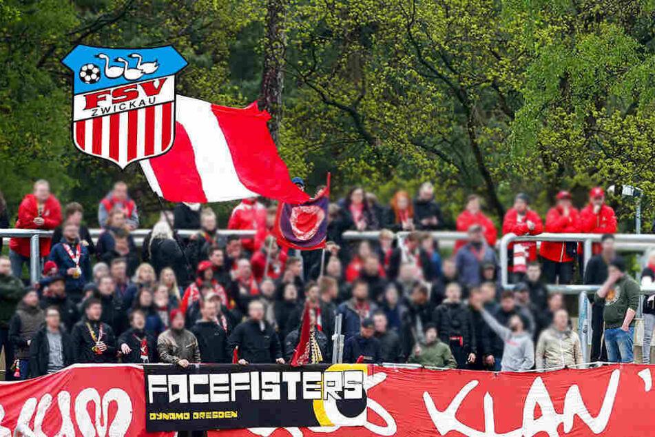 FSV-Randale! Zwickau-Anhänger und Nürnberger geraten aneinander