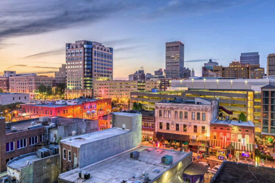 Die Tat ereignete sich in Memphis, der zweitgrößten Stadt im US-Bundesstaat Tennessee.