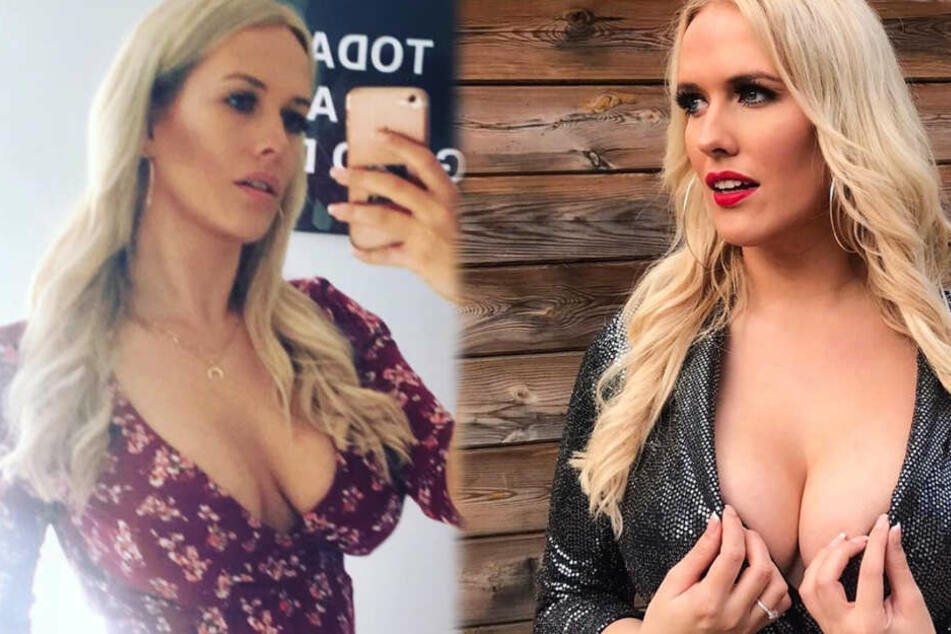 Findet sexy Single-Blondine mit Hammer-Dekolleté durch TAG24 neuen Freund?