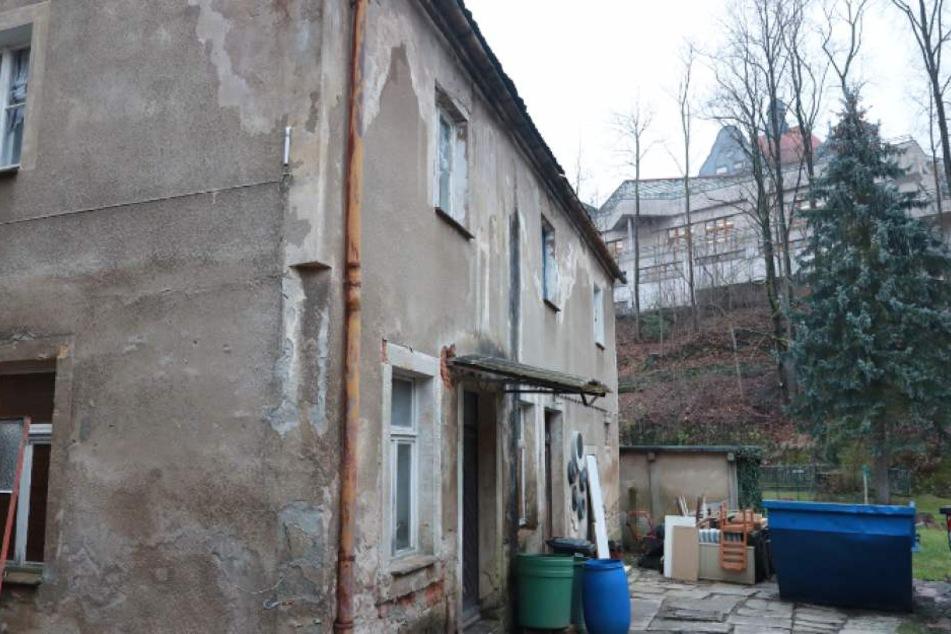 In diesem alten Haus geschah am Dienstagnachmittag ein Verbrechen.