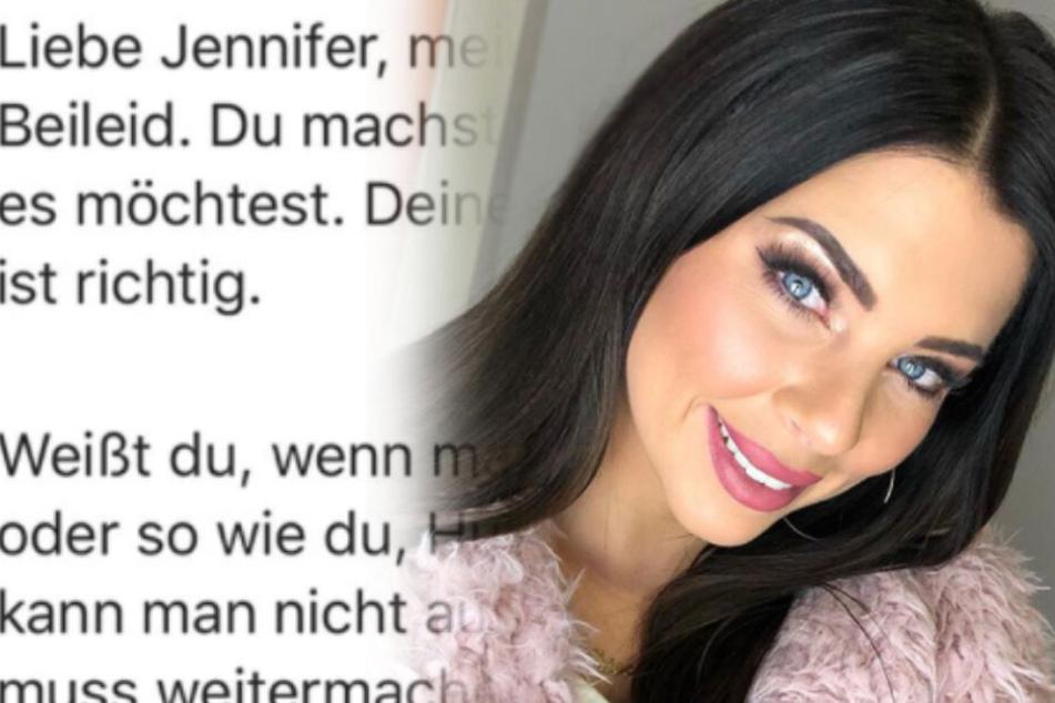 Erst Todesfall, dann beschimpft: So trösten Fans jetzt Jenny Frankhauser