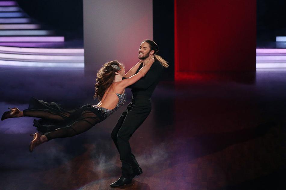 Auch Gil Ofarim mit Tanzpartnerin Ekaterina Leonova legten einen perfekten Auftritt hin.
