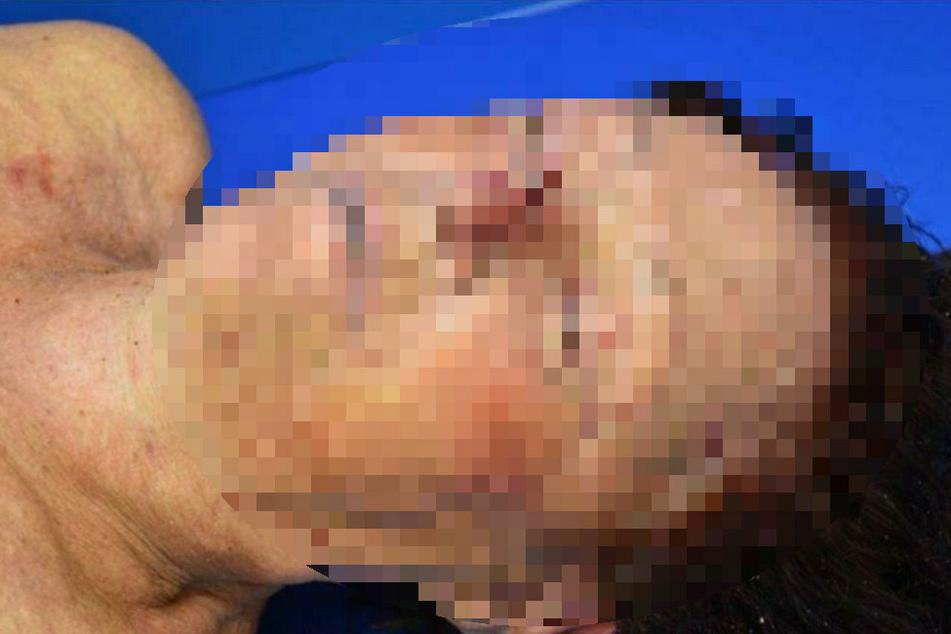 Mit einem Foto versuchte die Polizeiinspektion Stralsund die Identität der Toten zu klären.