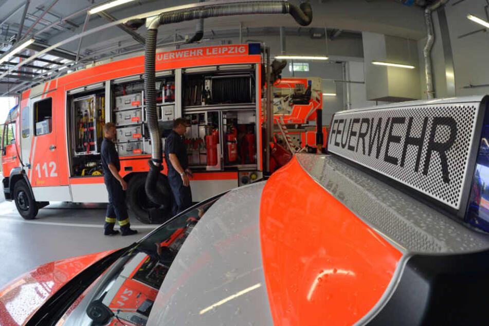 Nach sechsjähriger Bauzeit ist am Mittwoch ein neues Ausbildungszentrum für die Feuerwehr der Stadt Leipzig übergeben worden. (Symbolbild)