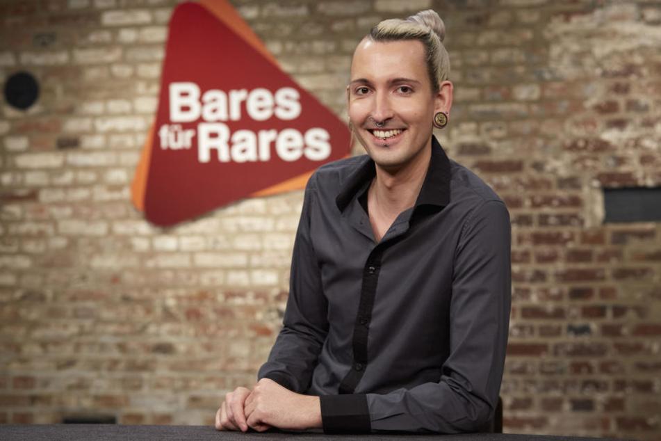 Fabian Kahl (27) gehört der Stammbesetzung von Bares für Rares
