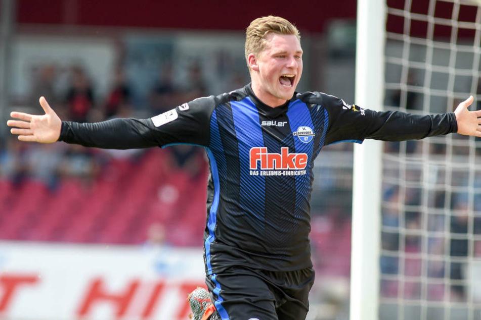 Bis 2021 hat Marlon Ritter beim SC Paderborn unterschrieben.