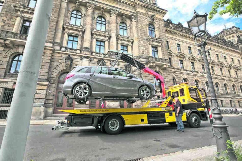 Während des Stadtfestes wurden vier Autos abgeschleppt und 643 Strafzettel  verteilt.
