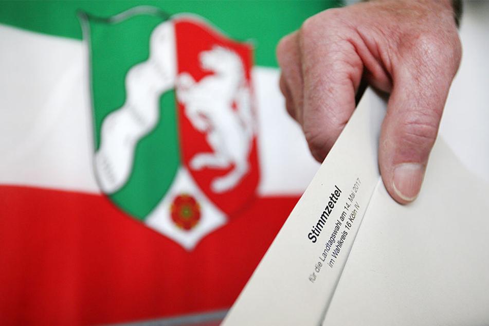 Bei der diesjährigen NRW-Landtagswahl gaben mehr Leute als üblich ihre Stimme ab.