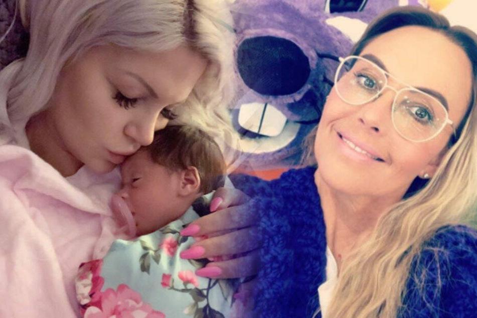 Ohne Neugeborenes in den Urlaub: Natascha Ochsenknecht verteidigt Sophia Vegas