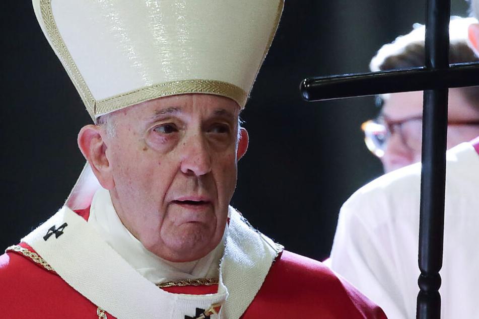 Papst Franziskus (82) dürfte diese Nachricht gar nicht gefallen.