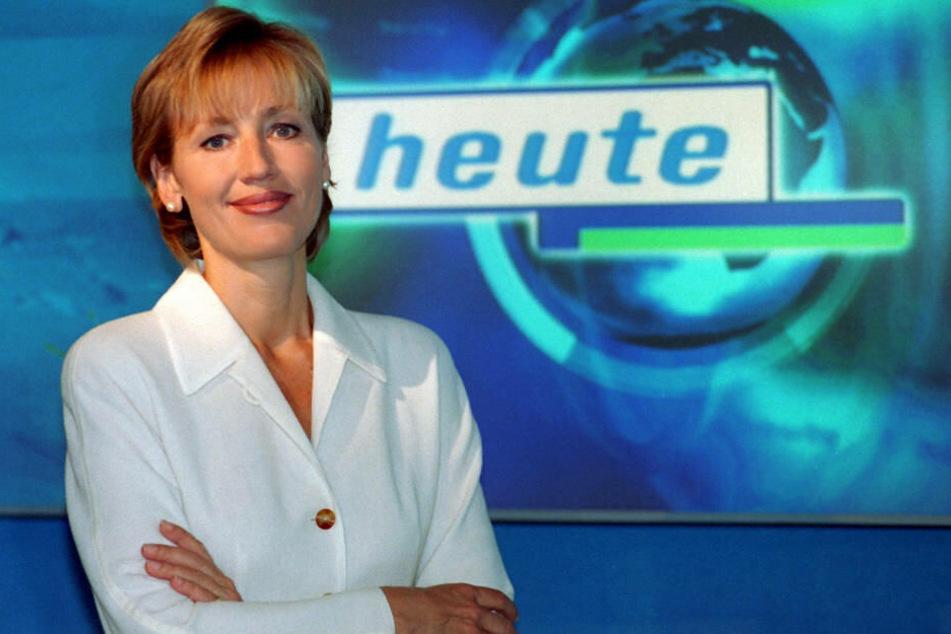 """Am 15. August 1998 war Gerster erstmals als Moderatorin der """"heute""""-Nachrichten im ZDF zu sehen."""