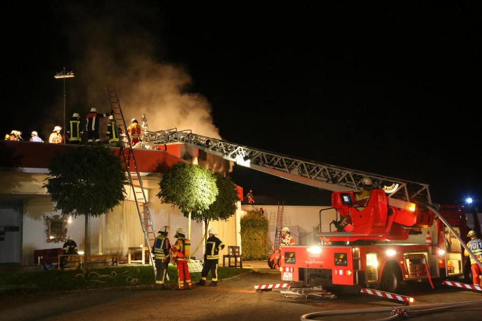 Beim Feuer entstand ein Schaden von etwa 300.000 Euro!