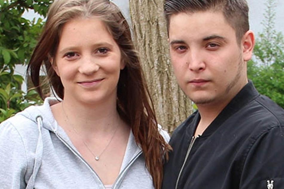Die beiden erwarten ein Kind. Für Marcell (19) ist es schon das Vierte.
