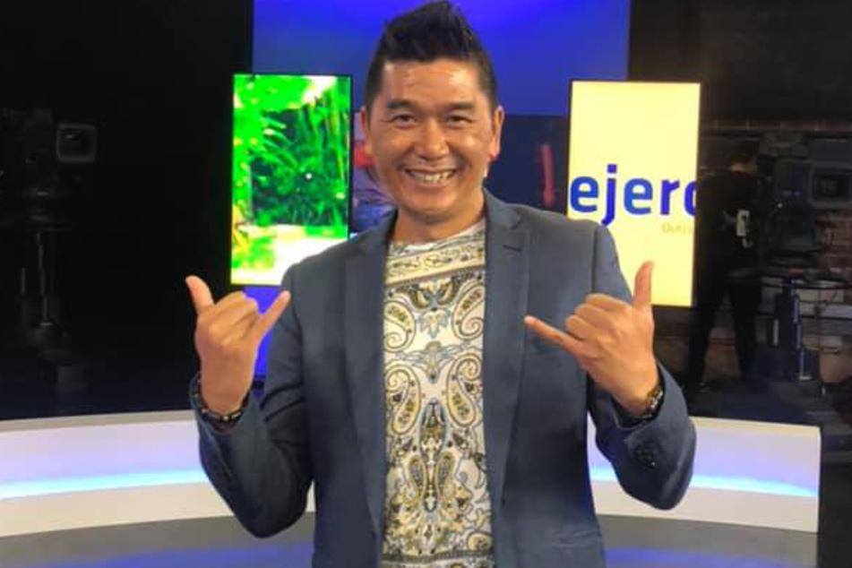 Findet sich selbst offenbar großartig: Dreifach-Papa Davy Nguyen.