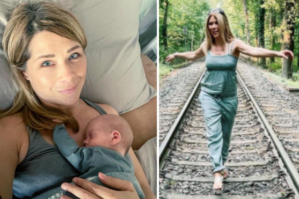 """Tanja Szewczenko (43) teilt ihr Familienglück gerne in den sozialen Medien. Für ihren neusten Beitrag erntet die Schauspielerin (""""Alles was zählt"""") jetzt aber viel Kritik."""