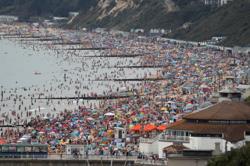 Menschenmassen am Strand: Hier ist kein Zentimeter mehr frei
