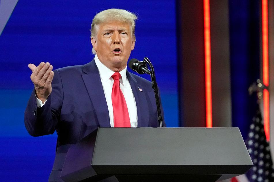 Wird er 2024 erneut kandidieren? Bislang hat sich Donald Trump noch nicht entschieden.