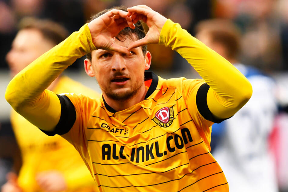 """Ein Herz für Dynamo: Jannis Nikolaou und seine Kollegen denken in dieser Zeit nicht nur an sich: """"Dass wir etwas tun konnten, macht mich glücklich"""", betont der Deutsch-Grieche."""