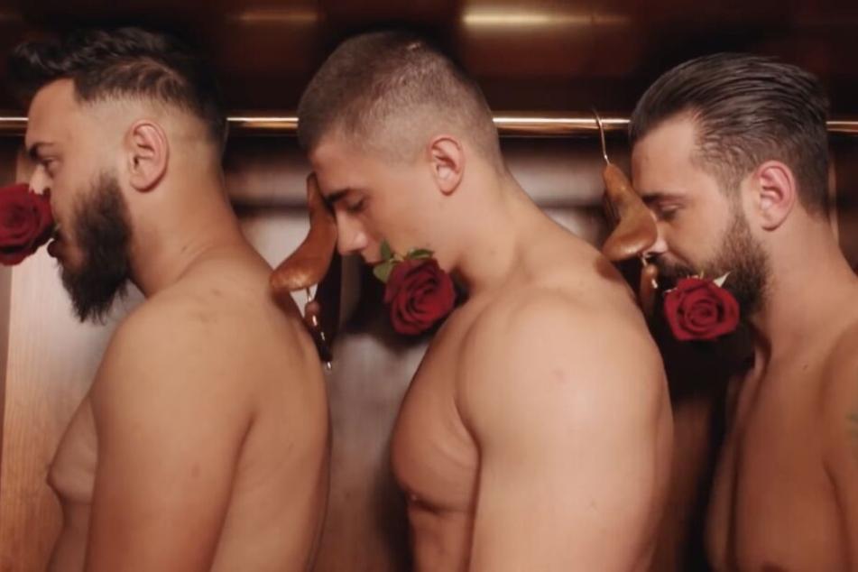 Ein Rosenkavalier für jeden Tag? Katja bewahrt ihre Männer im Kleiderschrank auf.