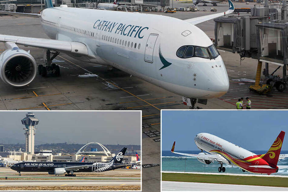Die Gewinner der JACDEC-Studie: 1.Cathay Pacific, 2.Air New Zealand und 3. Qatar Airways.