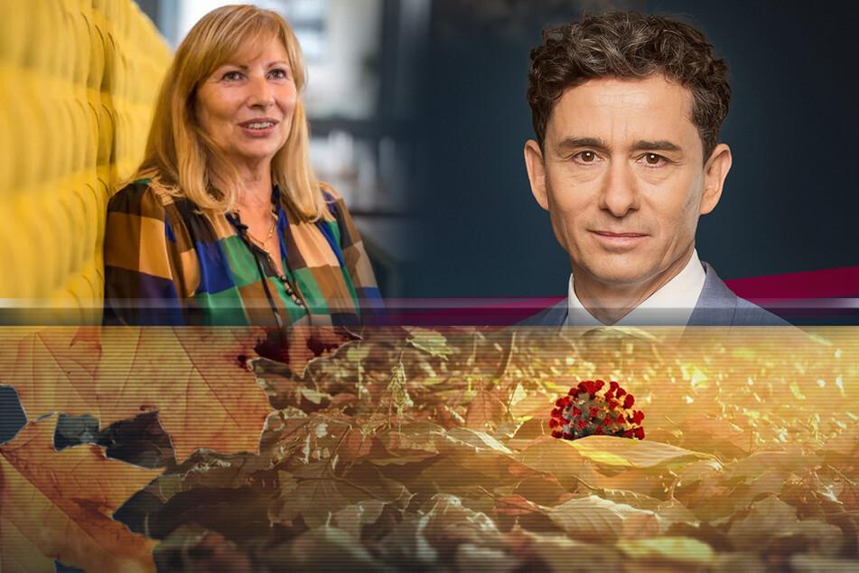 """Andreas F. Rook (54) in """"Fakt ist"""" im MDR-Fernsehen - auch hier das Thema: Corona."""
