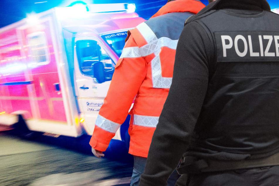 Die 29-Jährige kam mit schweren Verletzungen in ein Krankenhaus (Symbolbild).