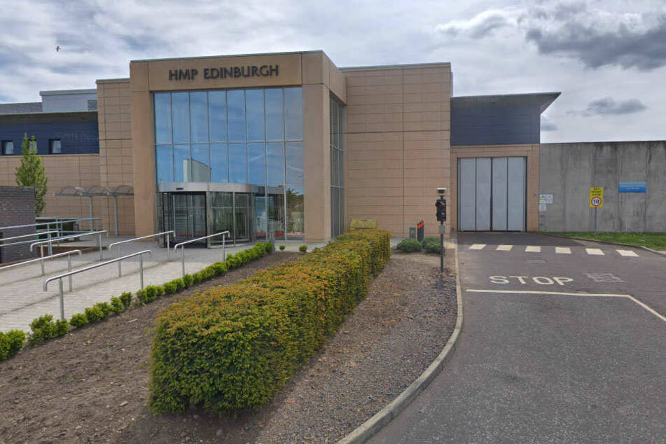 In diesem Gefängnis in Edinburgh ist Paris Green derzeit inhaftiert.