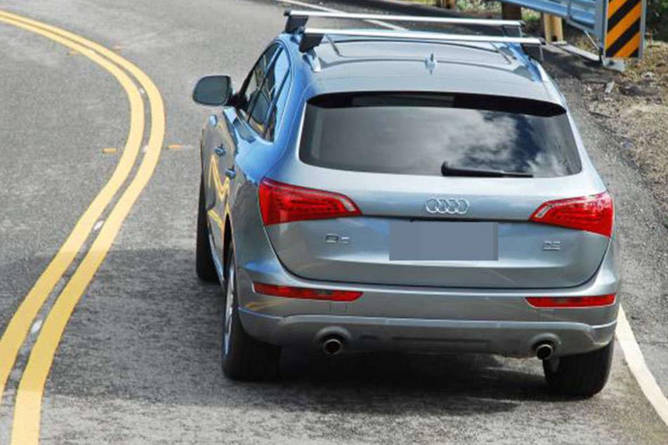 Den Audi Q5 hatte der polnische Autodieb vorher in Lübben entwendet.