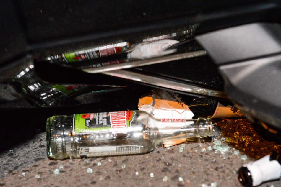 Der Fahrer soll stark alkoholisiert gewesen sein.