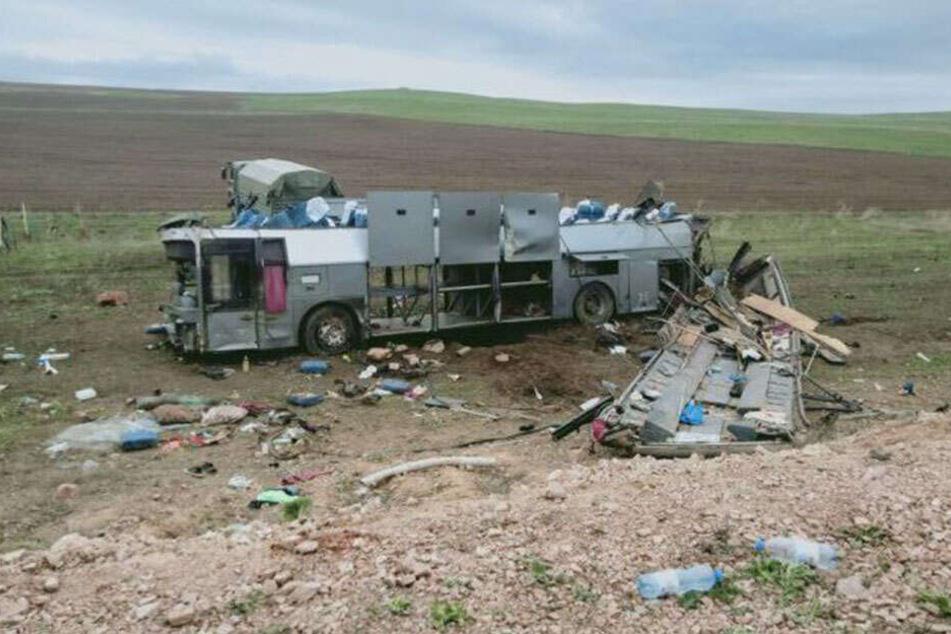 11 Menschen starben bei dem Busunglück.
