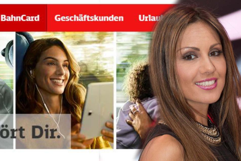 Nazan Eckes ist eines der Werbegesichter der Deutschen Bahn.