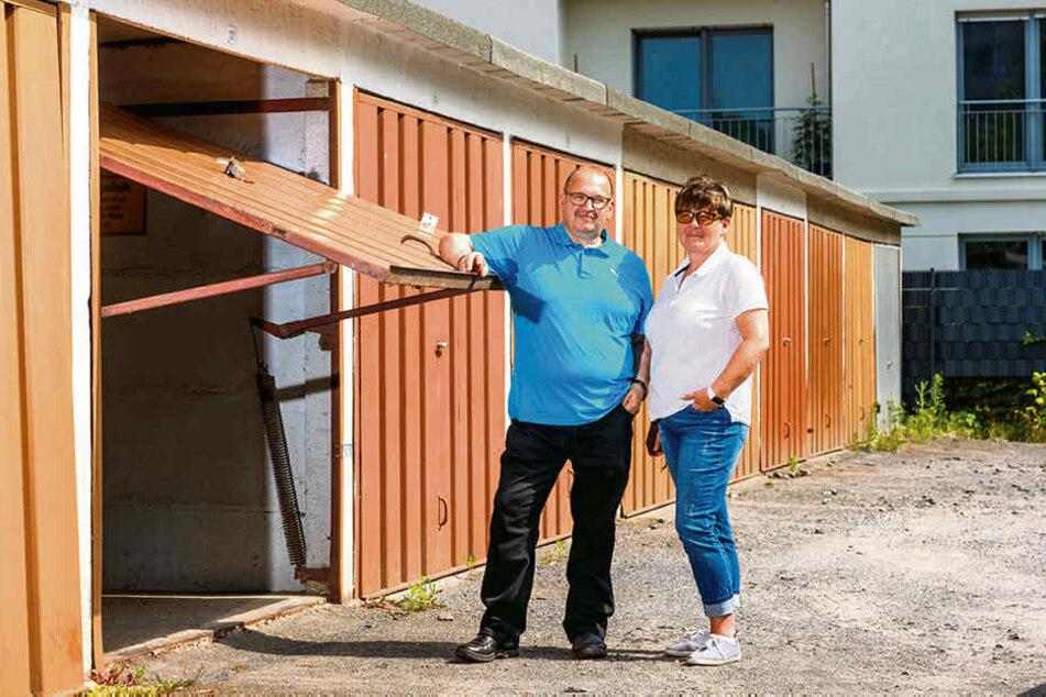 Frank Dobner (56) legte sich zusammen mit seiner Frau Jeannette (49) mit der Stadt an.
