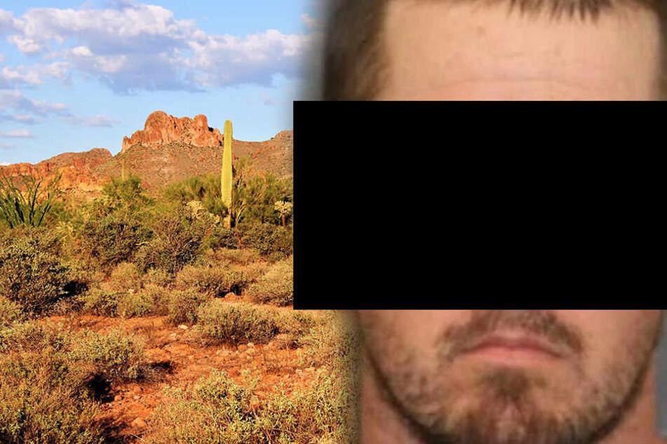 Christopher W. (28) setzte seine zehnjährige Tochter in der Wüste Arizonas aus.