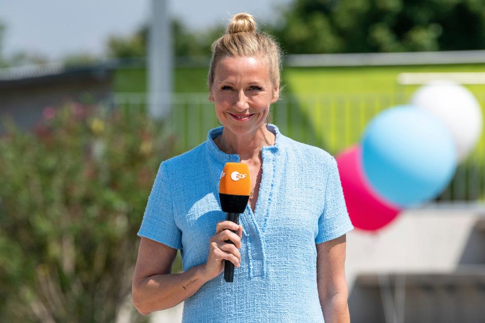 Andrea Kiewel (56) lädt am Sonntag zum Fernsehgarten.