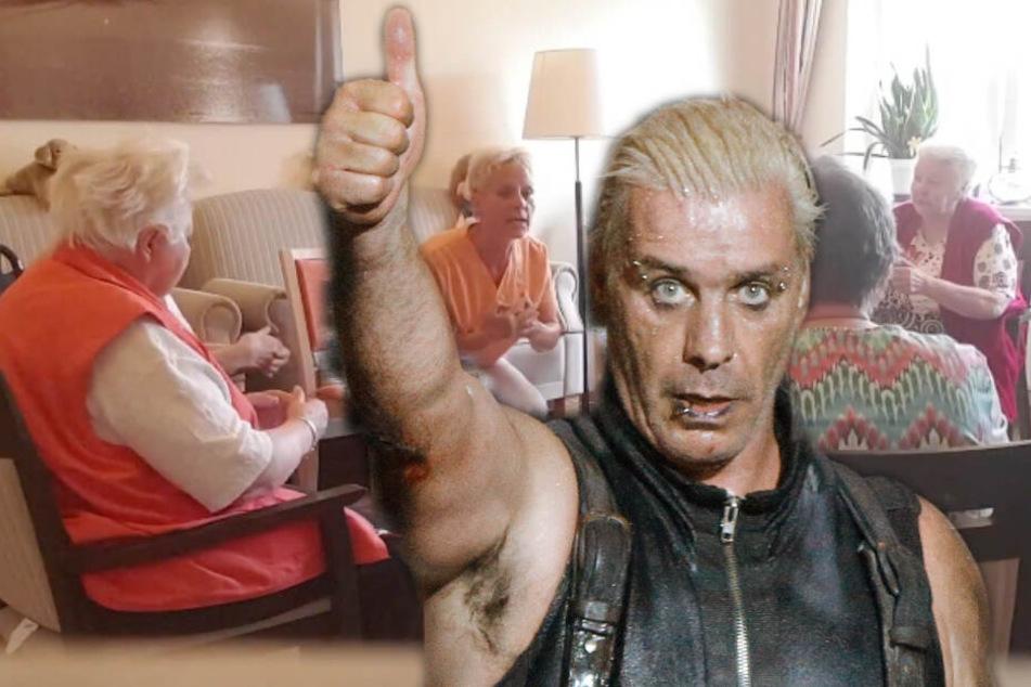 """Rammstein-Rentner machen Sitztanz zu """"Ich will"""" und das Netz eskaliert"""