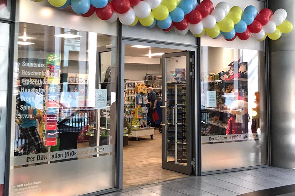 Zeitreise in die Vergangenheit - im neu eröffneten DDR-Laden fühlen Kunden sich in die DDR zurückversetzt.