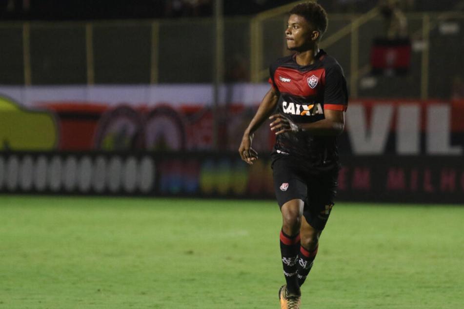Kickte vor kurzem noch in Brasilien beim EC Vitoria: Lucas Ribeiro dos Santos.