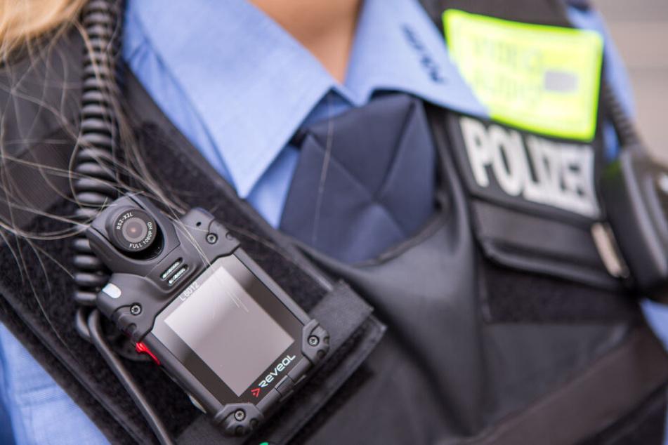 Bald regulär in Sachsen im Einsatz: Bodycams.