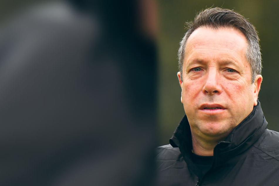 Dynamo-Trainer Markus Kauczinski.