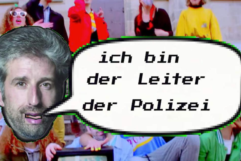 Palmer war erst vor wenigen Tagen in einem Musik-Video zur Zielscheibe von Spott geworden. (Screenshot)