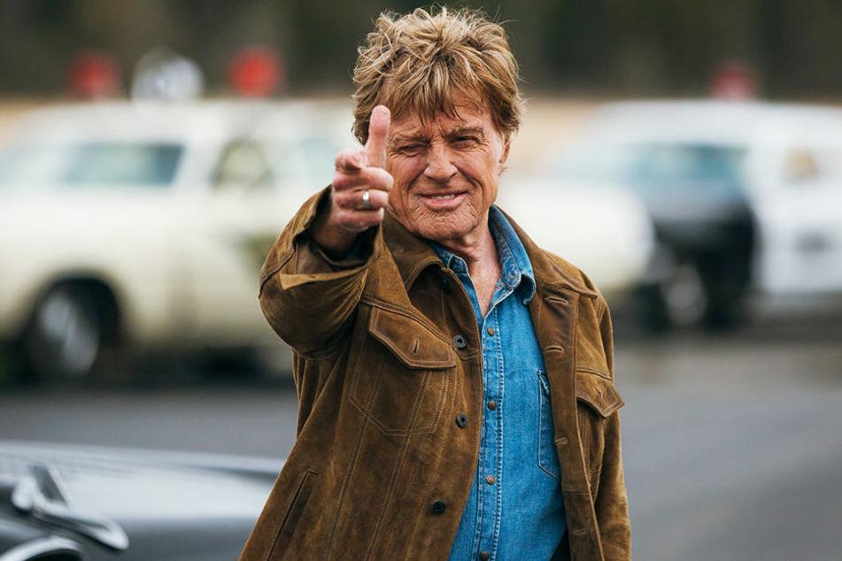 Forrest Tucker (Robert Redford) legt sich immer wieder mit der Polizei an.