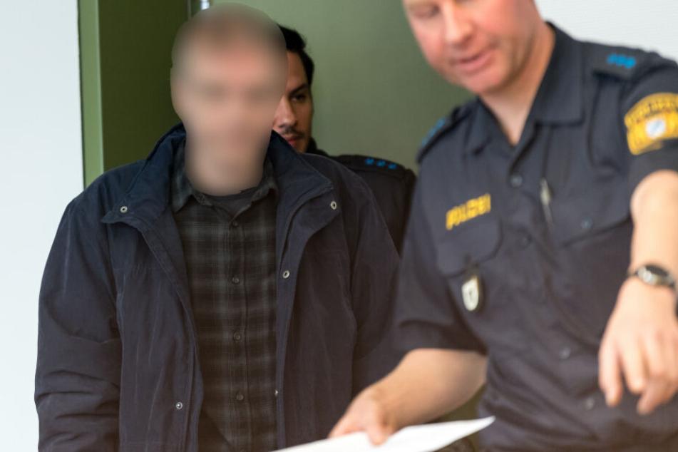 Der Angeklagte muss sich in München vor dem Landgericht II verantworten.