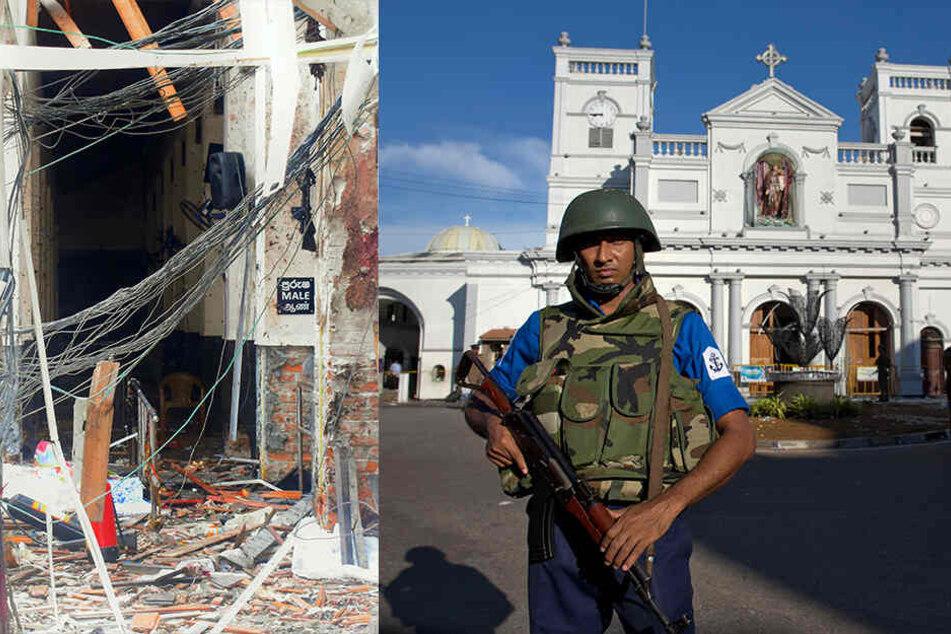 Ermittler sicher: Angriffe in Sri Lanka waren Selbstmordanschläge!