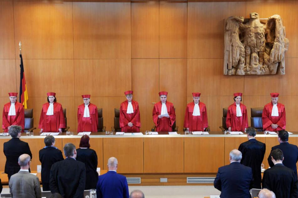 Der erste Senat des Bundesverfassungsgerichts in Karlsruhe, verkündete am Dienstag das Urteil über die Rechtmäßigkeit der Hartz-IV-Sanktionen.