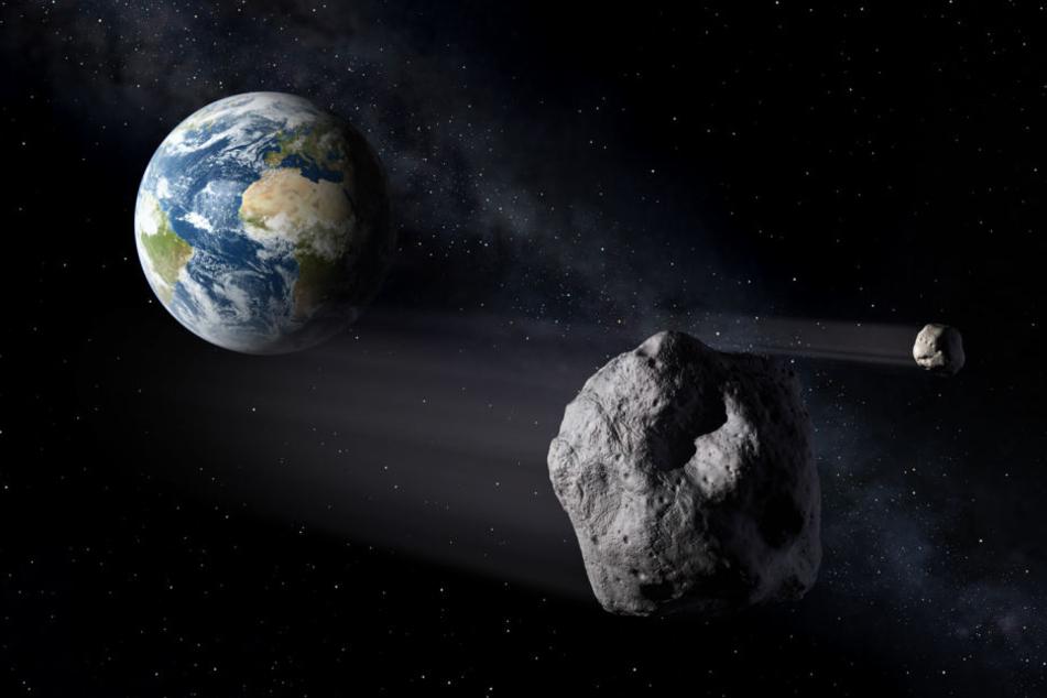 """""""2002 AJ129"""" wird in rund 4,2 Millionen Kilometern Entfernung an der Erde vorbeirauschen. (Symbolbild)"""