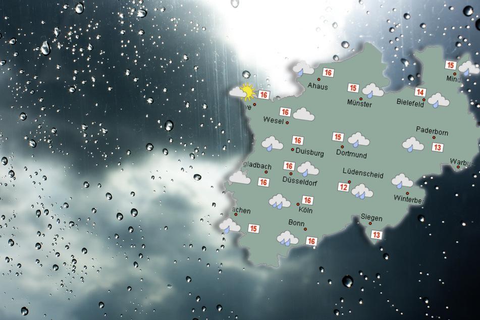Die Sonnenstrahlen verstecken sich am Donnerstag hinter dichten Wolken. Örtlich kann es regnen.